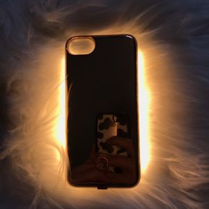 🍋 Rose Gold Light-Up Phone Case iPhone 7/8